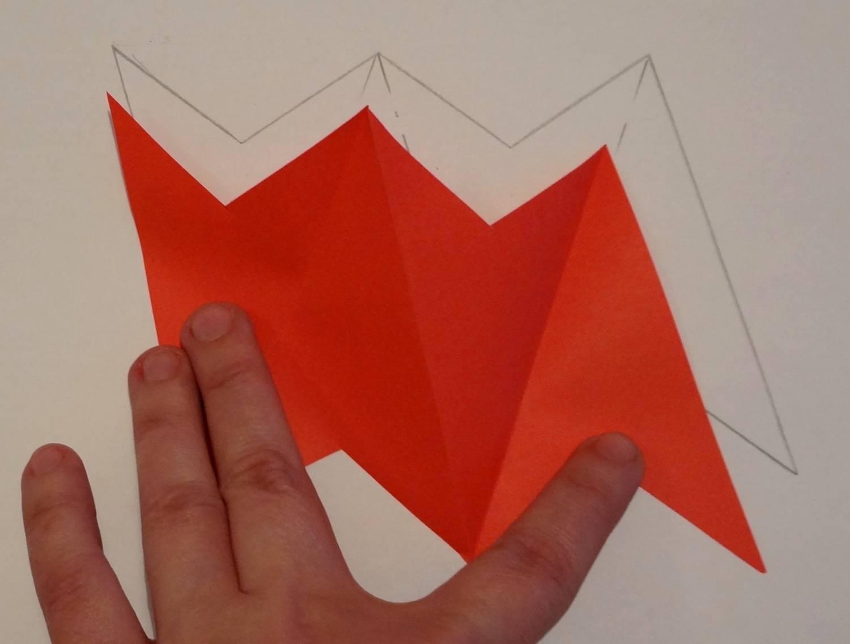 Оригами из бумаги подарок папе