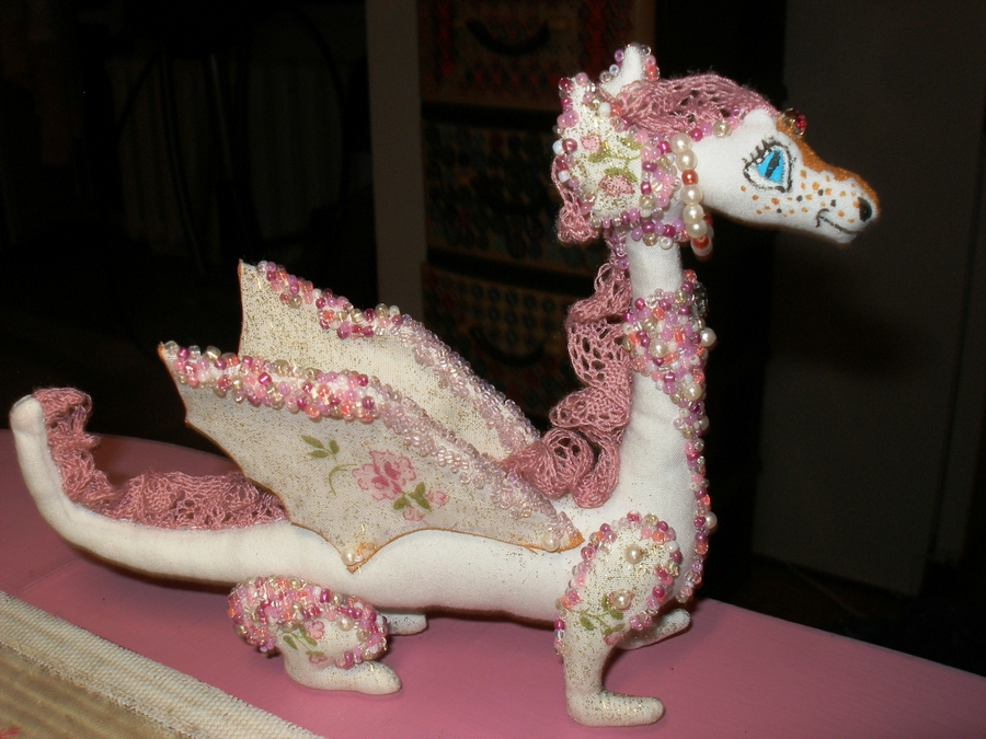 Выкройки мягких игрушек дракона
