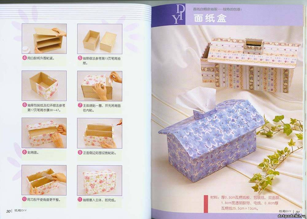 Как обтянуть коробочки тканью мастер класс