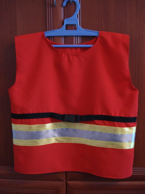 Костюм пожарного своими рук 85