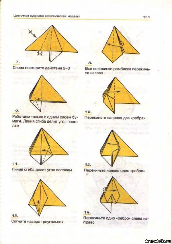Оригами шара как сделать
