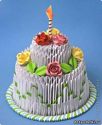 Торт на День рождения от