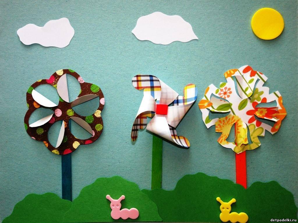 Ветерок поделка для детей