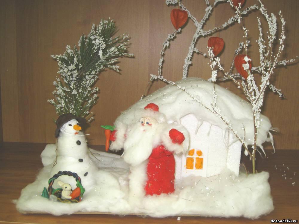 Зимняя поделка своими руками в садик