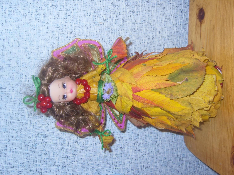 Кукла осень своими руками для детского сада 86