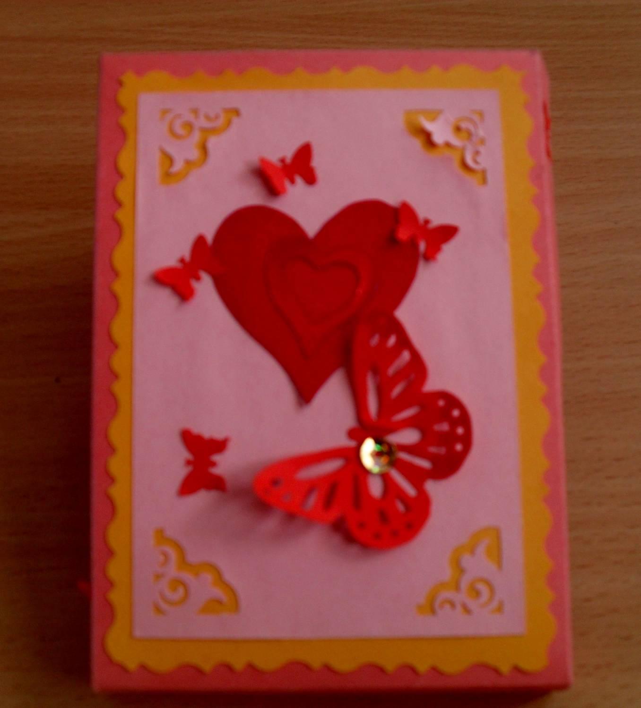 Как сделать открытку на день валентина своими